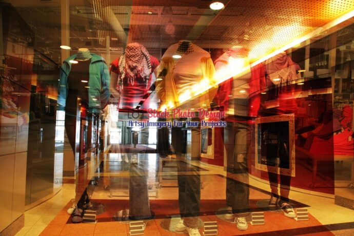 Store Mannequins Photo Montage 2