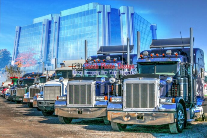 Trucks Fleet Photo Montage 1