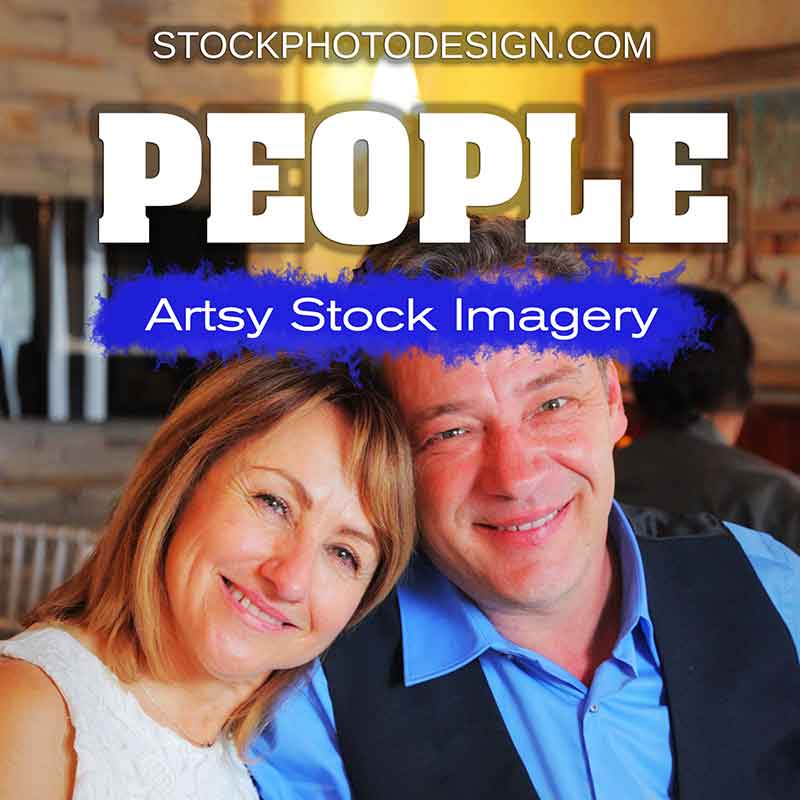 Beautiful People Artsy Royalty-Free Pictures
