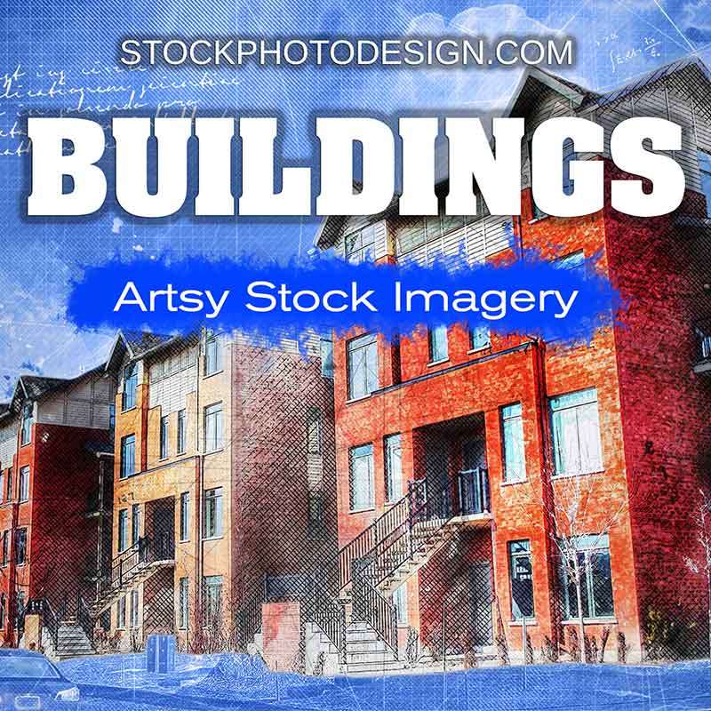 Buildings and Architectures Artsy Royalty-Free Pictures