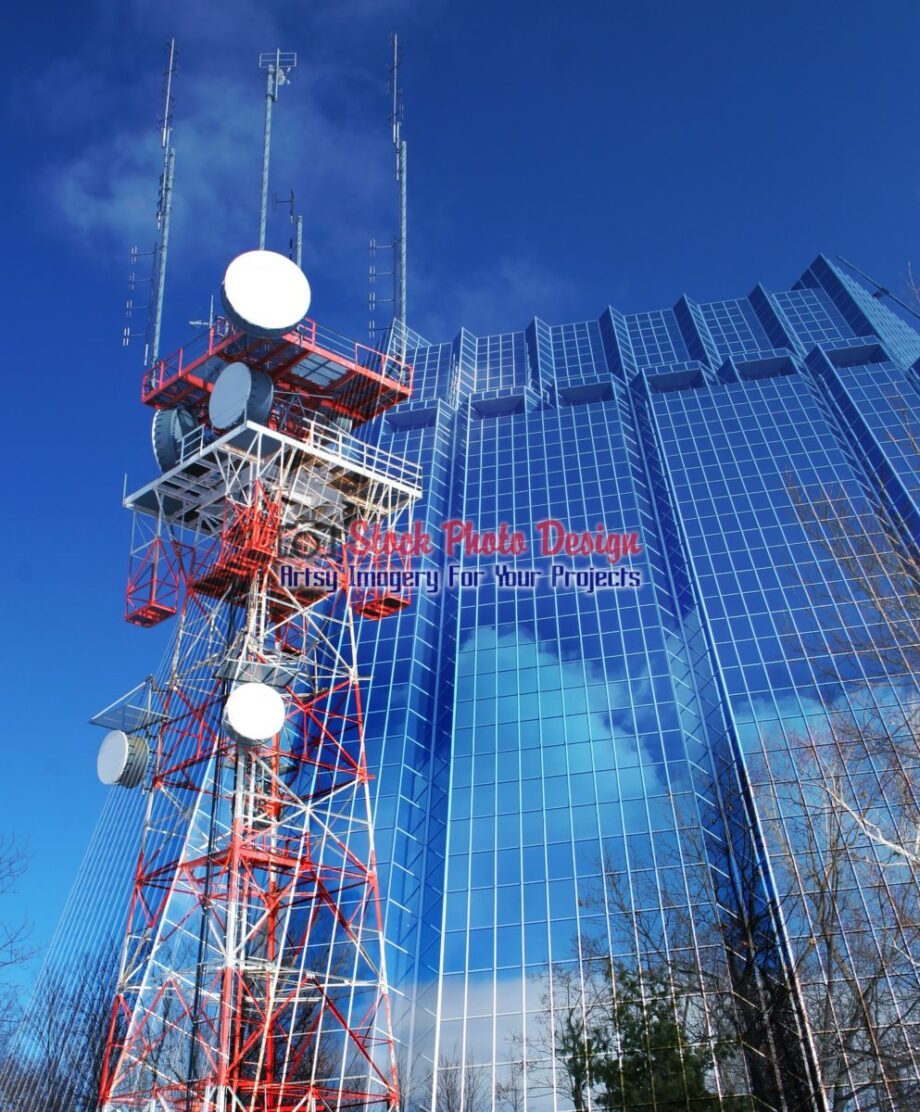 Communication Industry Photo Montage 01