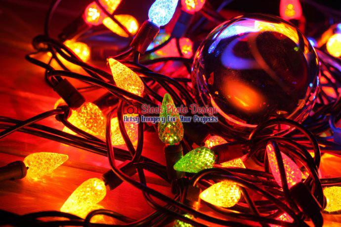 Christmas Lights and Lensball 3