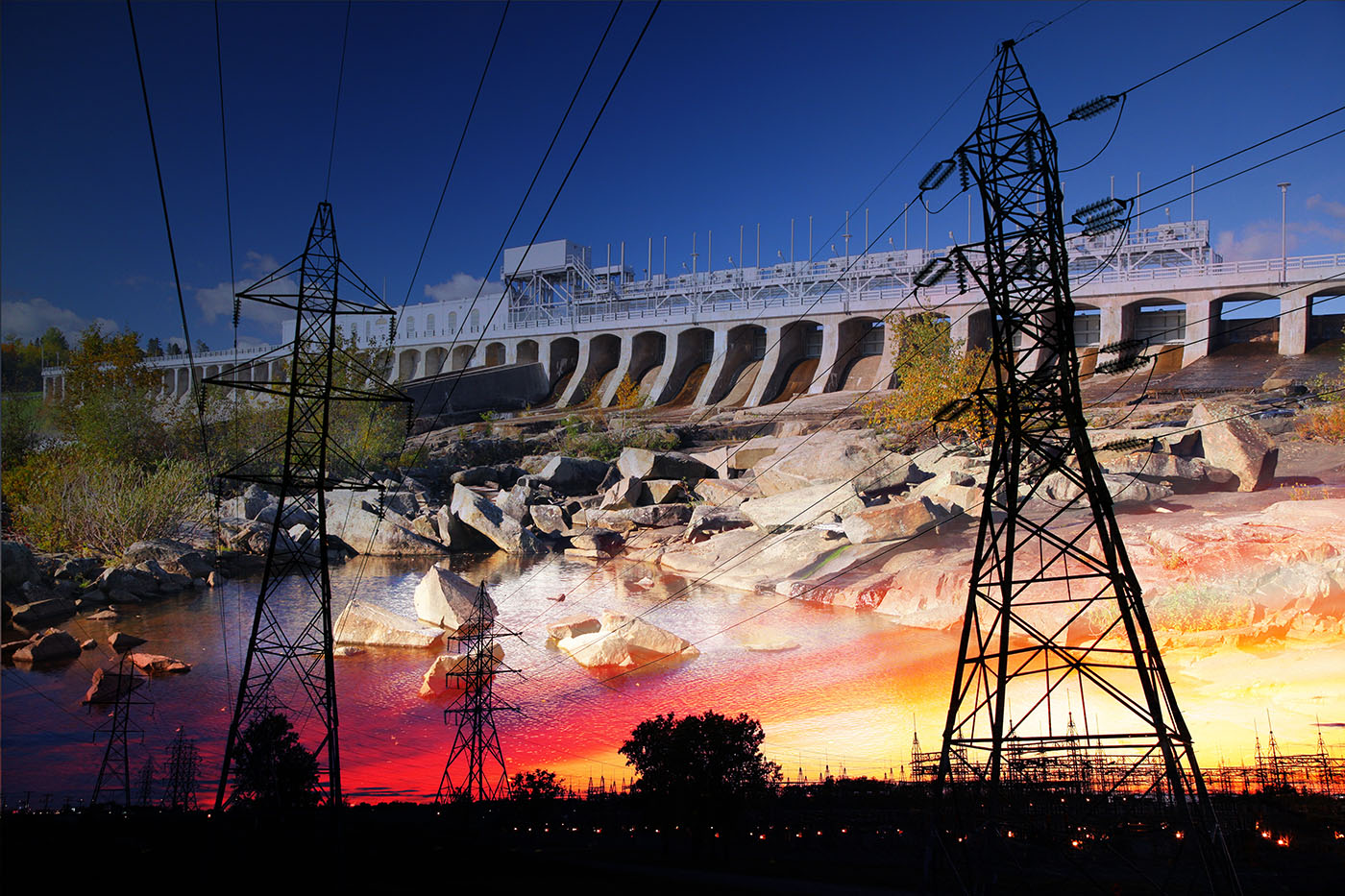 Electric Dam 03 - Dimensions: 5616 by 3744 pixels
