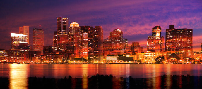 Downtown Boston Skyline