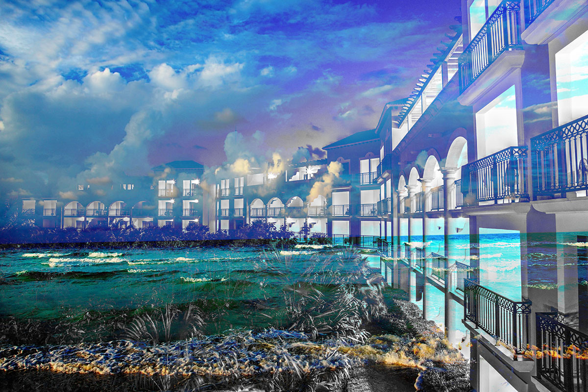 Hotel Resort Photo Montage 01 - Dimensions: 5616 by 3744 pixels