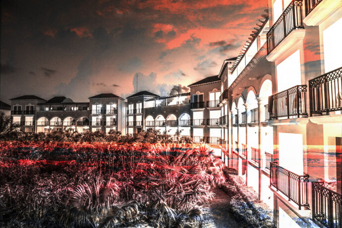 Hotel Resort Photo Montage 02 - Dimensions: 5616 by 3744 pixels