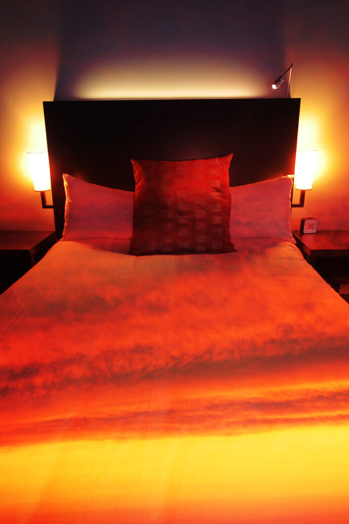 Sunset Bed Cover 2