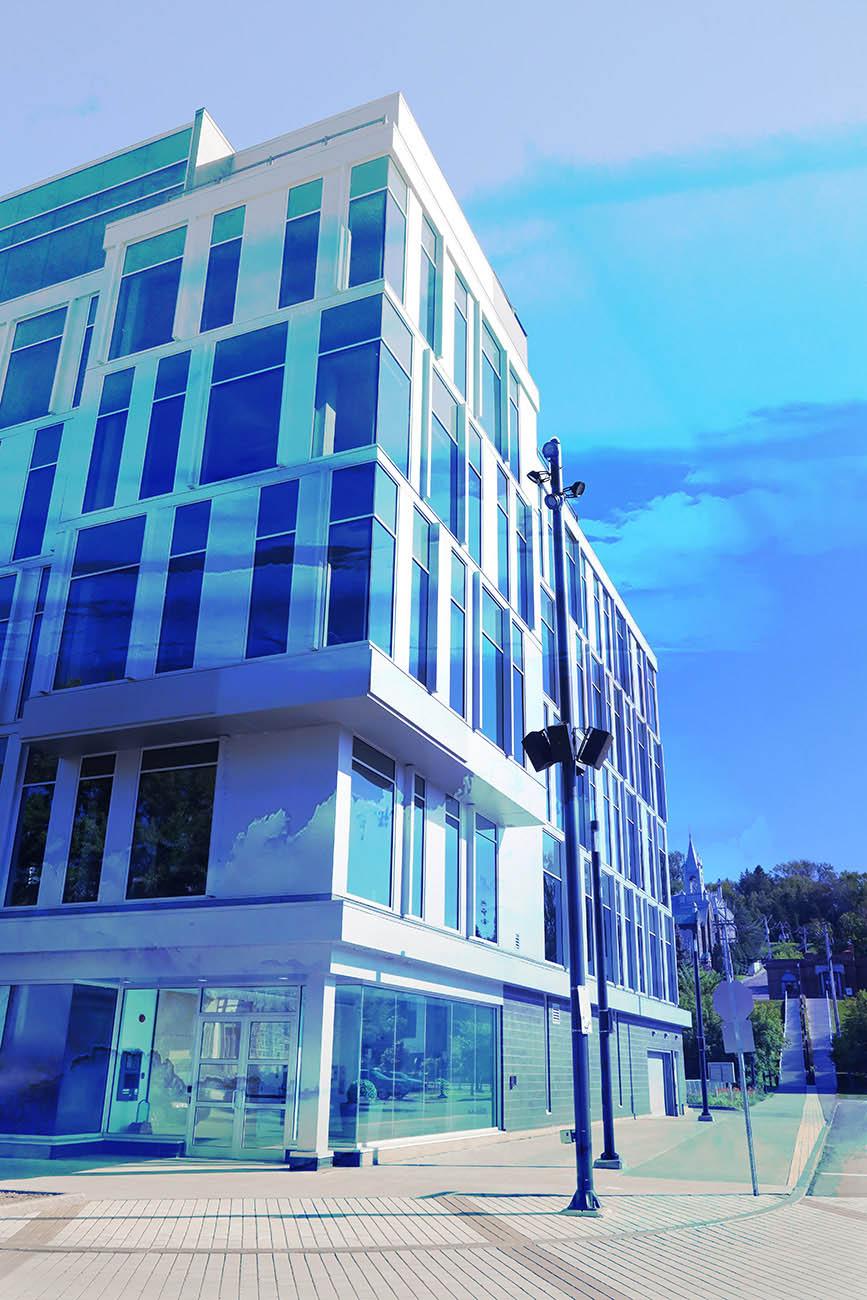 Street Corner Office Building 01